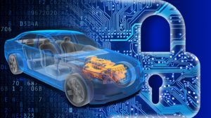 Automobile security image, from National Highway Traffic Safety Administration. (2016, October). Cybersecurity best practices for modern vehicles. (Report No. DOT HS 812 333).