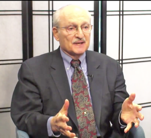 Gerry Elman being interviewed on Money Matters in February 2018
