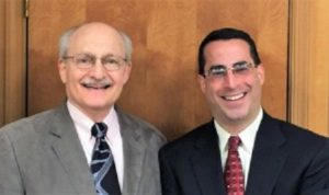 Elman Technology Law attorneys Gerry J. Elman and Joshua D. Waterston